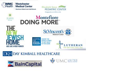 logos of client hospitals